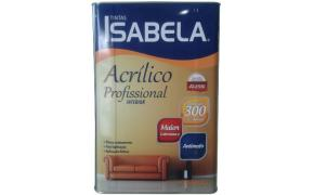 Tinta Acrílico Isabela Profissional 18L - Alessi - Cores
