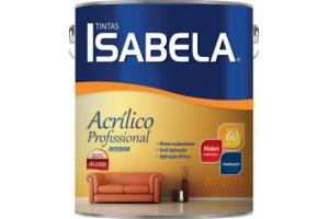 Tinta Acrílico Isabela Profissional 03,6L - Alessi - Cores