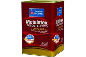 Tinta Acrílica Metalatex 18 Litros Branco - Sherwin Williams