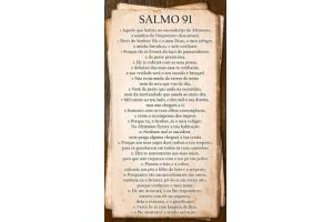 Painel 32x57 HD60094 Salmo 91 - Incopisos