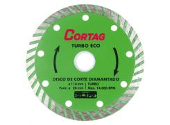 Disco Diamantado Turbo Eco - Cortag