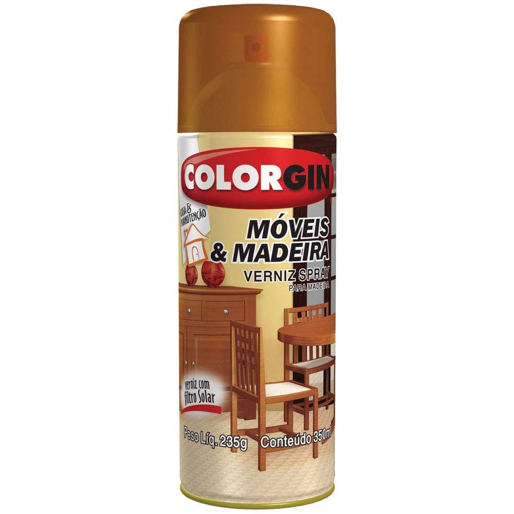 Selador Spray 350ML P/Madeira Incolor - Corlogin