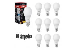 Kit 10 Lâmpadas Led Biv E-27 6500k - 09w - Avant